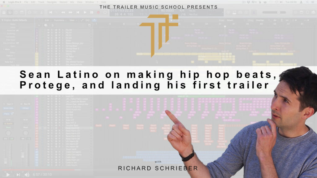 Read more about the article TMCP 74 Sean Latino on making hip hop beats, Protege, and landing his first trailer